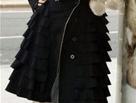 Clothes and style / Has a lot of Helena Bonham Carter's style, which i adore. If only I could pull that off.