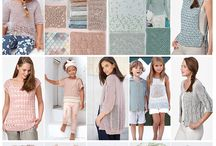Aqua & Rose / This season the use of pastel shades will be essential for a romantic, soft and sexy style. Subtle and powdered shades in a soft, feminine and inspiring color range.  Two colors to highlight: - Green, delicate and very flattering - Pink, which exudes warmth and kindness