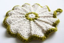 Crochet for Kitchen & Potholders / This board is for a selection of pretty and stylish Potholders that I like.