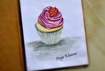 food sketches , food doodles / fooddoodles / food illustrations / my food art