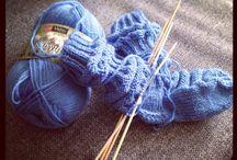 Villasukkia - knitted socks