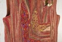 Секционное вязание.
