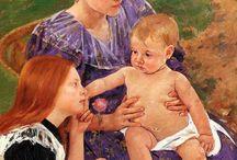 Pinturas de Mary Cassatt | Mulheres na pintura
