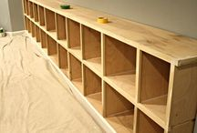 Storage for play room