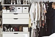 Vaatehuone - Walk in closet