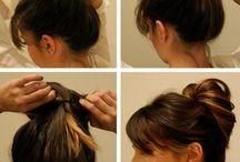 Frisyrer & håruppsättning