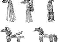 Pletení ze slámy