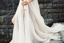 Artsy Wedding Dresses