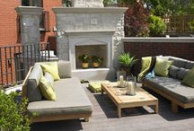 Garden- patio, fireplace, relaxing place