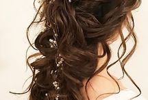 hairstyles: tied back