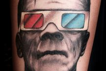 Frankenstein Tattoos
