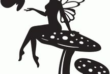 Silhoutte: stamps