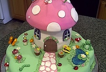 Toadstool cakes