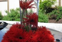 Red themed weddings