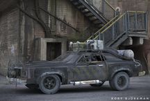 Wheels / Bikes, cars and trucks... Mad Max rides for the end of the world