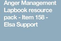 Düh kezelés lapbook