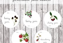 printable labels, tags | etiquetas para imprimir