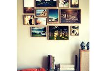 Memories on the wall, which is the adorable of them all? /  If there's one design element that has been having a major moment lately, it has to be gallery walls. Whether it's big, small or somewhere in between, creating a gallery with your favourite photographs and art pieces can instantly elevate the style of any space. Creatively display your photography in beautiful ways that can emphasize any interior decor and that will hold a special meaning to you and your family.