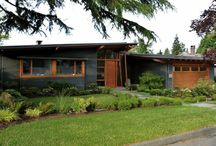 MidCentury Exterior/landscaping