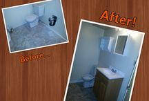 Edmonton Handyman / Before and After photos of some jobs we have done! Coming soon...