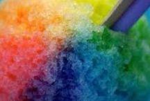 as a rainbow