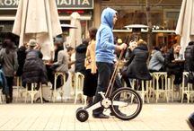 Halfbike çok hafif,esnek ve dayanıklı / Kompakt bisiklet halfbike, bisiklet sürme ve koşma deneyimlerini birleştiriyor.