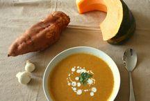 Soupes, veloutés and co / Des soupes chaudes ou froides