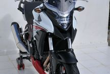 Honda CB 500 X 2016 by Ermax Design / Accessories, windshield, belly pan, hugger