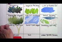 Videos watercolour