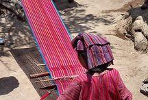 Weaving, kankaankudonta, väving