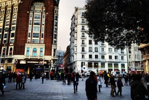 Famous streets and squares of Madrid