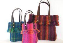 loom woven bags