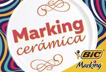 Marking Cerámica / Tazas, platos, floreros... todo es mejor con un poco de color ;)