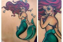 Little mermaid tattoos / by Brooke & Cat Parkhouse