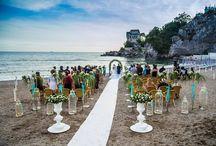 """Rito Civile o Rito Simbolico / Questo tipo di cerimonia per gli sposi e gli invitati ha un valore emozionale altissimo perchè rappresenta in tutto e per tutto l'unione della coppia, quindi è una celebrazione emotivamente """"vera"""" in tutto e per tutto.  / by Lloyd's Baia Hotel"""