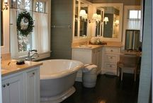 Bathroom design / by Julie Dickinson