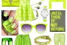 Neon fashion / Bright colored fashion / by Natalia Escamilla