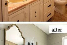 before/after interior design