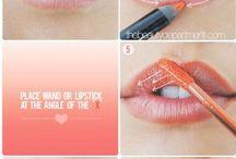 Schminktipps / Lippen