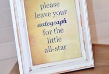 All-Star Baby Shower! / I definitely want to have an All-Star baseball themed baby shower for our first little one :) <3 / by Jesi Bell-Godfrey