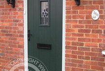 Solidor - Green Timber Composite Doors /  Solidor Timber Composite Doors #compositedoors #compositedoors #solidorcompositedoor #timbercompositedoors