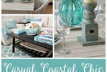Ideas para casas de playa / Cosas lindas y muchas ideas para decorar las casas de playa.