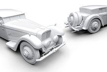 BUCCIALI TAV 8-32 (12) / 3D printed scale model 1:8 of classic car BUCCIALI TAV 8-32 made by firm SVOTT (www.svott.cz)