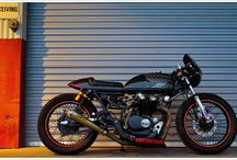Cafe Racers / Classic motorbikes, vintage cafe racers