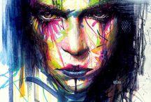 Colorist drawings