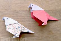 Origami, Kirigami and Paper Crafts / Now the kids are getting older, we are loving exploring traditional paper crafts - such as origami crafts (paper folding only) and Kirigami crafts (paper folding with a little cutting). There are so many amazing projects out there!