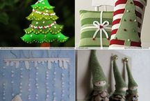 Christmas crafts and decorations / by April Maines