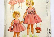 Little girls' vintage