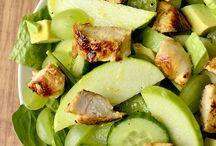 Salater og dressing