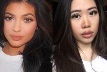 Celebrity Makeup Recreation